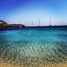 Ornos Beach Mykonos Greece