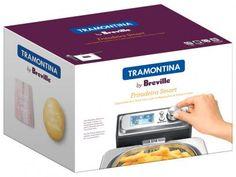 Fritadeira Elétrica Tramontina By Breville Smart - 4L Inox Timer com as melhores condições você encontra no Magazine Siarra. Confira!