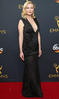 Emmys 2016: Best Dresses of the Night - Kirsten Dunst in Givenchy
