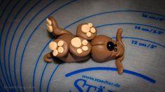 kleine Hunde Tortenaufleger   veris fairy cakes Puppy Cake Decorating