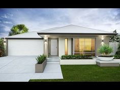 New house exterior colors contemporary garage doors Ideas Modern House Plans, Modern House Design, Modern Exterior, Exterior Design, Door Design, Colorbond Roof, Contemporary Garage Doors, Design Youtube, House Design Pictures