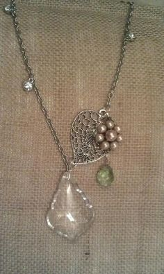 Crystal Beauty necklace by Have Faith Designs  www.facebook.com/havefaithdesigns
