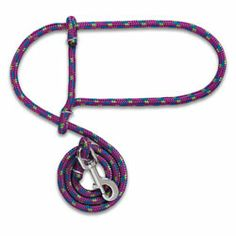how to make a goat halter from a rope