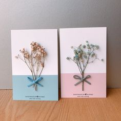 Best 12 / Addition area / Write a poem for you to choose a variety of exclusive design dry flower stereo card postcard – Designer busybee – Pinkoi Creative Birthday Cards, Flower Birthday Cards, Flower Cards, Diy And Crafts, Paper Crafts, Deco Floral, Diy Flowers, Button Flowers, Christmas Greeting Cards