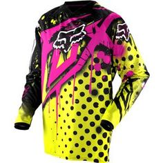 jersey for riding his dirtbike