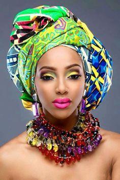 Colourful Headwrap....