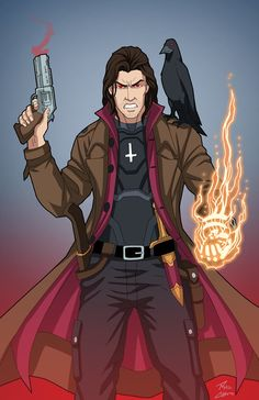 Warlock commission by phil-cho.deviantart.com on @DeviantArt