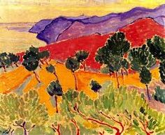Landscape by the Sea- the Cote d'Azur near Agay, 1905 by Andre Derain