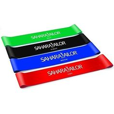 Sahara Sailor Exercise Resistance Loop Bands Set of 4 * Details can be found by clicking on the image.