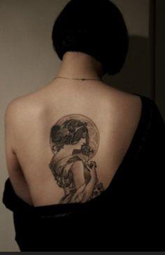 Art nouveau tattoo ideas