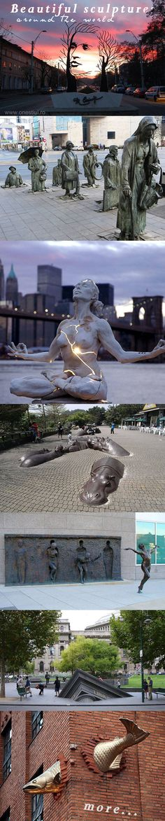 Sculptures From Around The World That Will Leave Your Jaw Quite Literally Dropped