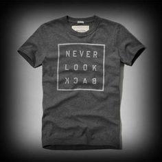 Abercrombie&Fitch メンズ Tシャツ  アバクロ Mason Mountain Tee Tシャツ  ★大人気なAbercrombie&Fitch。アバクロ 銀座店で販売されていない海外限定品! Abercrombie&Fitch メンズ Tシャツ  アバクロ Mason Mountain Tee Tシャツ  ★色あせ古めかされたロゴプリントがインパクトありお洒落です。