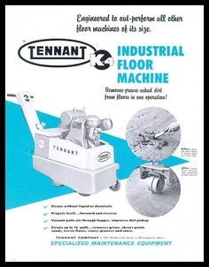 Escarificadora Tennant K4, lanzada en 1942