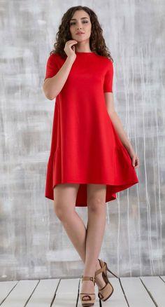 Red dress Boho dresses Day to Day A - line dress for women Autumn dress Spring dress Party dress Cocktail dress red dress Asymmetrycal dress Red Dress Casual, Casual Dresses, Fashion Dresses, Maxi Dresses, Dress Red, Bridesmaid Dresses, Fashion Top, Flower Dresses, Boho Fashion