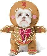 California Costume Collections Gingerbread Pup Dog Costume, Medium