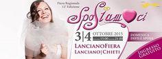 Sabato 4 e domenica 5 Ottobre, dalle 15 alle 21 a LancianoFiera, ci sarà la seconda edizione di Sposiamoci