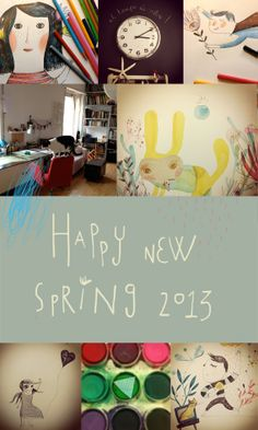 Happy New Spring   Africa Fanlo's blog