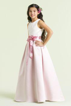 nectáreo Baile Alças Faixas/Fitas flores feitas à mão Comprido Cetim Flower Girl Dresses [W817] - €62.28 : Aisle Style BR