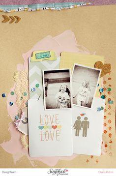 DT Scrapbook Werkstatt - Crate Paper - Layout von Diana Rohm