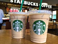 11 Starbucks Drinks Ranked By Caffeine Content-- The everyday food resource for our generation. You might think you know how much caffeine you're getting in your Starbucks, but the actual numbers are surprising. See how your favorite drink ranks. Café Starbucks, Starbucks Hacks, Menu Secret Starbucks, Bebidas Do Starbucks, Healthy Starbucks Drinks, Iced Coffee Drinks, Healthy Drinks, Starbucks Coffee Prices, Desert Recipes