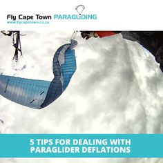 Most paragliders will have some paraglider deflation survival stories under their belt. Deal with it using our tips! Ultralight Plane, Paragliding, Cape Town, Survival, Social Media, Tips, Social Networks, Social Media Tips, Counseling