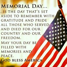 memorial day wishes 2014