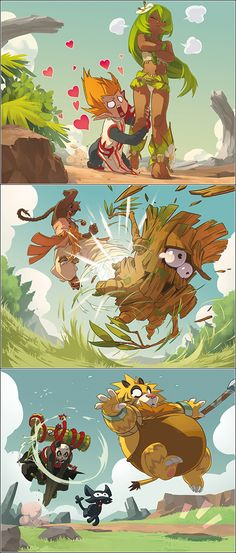 wakfu-TCG by ~Kurunya on deviantART