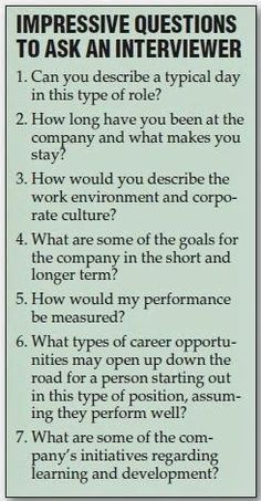 Great Questions to ask the interviewer during a job interview. Still feeling a little rusty on the whole job searching process? No problem. GO Charleston Deals has a great deal on Interview Coaching just for you! https://gocharlestondeals.com/deals/interview-coaching/
