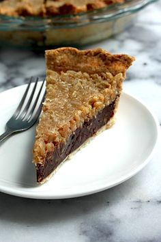 Chocolate Coconut Pecan Pie - this rich, decadent chocolate// coconut pie is sure to be a new family favorite!!!