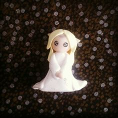 Galadriel from Lord of the Rings in Polymer Clay (Fimo)