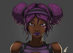 Dark Skinned Anime Characters | Dark Skin Anime Characters and Other Goodies
