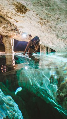 Underground swimming cenote Tak Be Ha in Tulum, Quintana Roo - Mexico Travel<br> Are you looking for hidden gems to visit in Mexico? Youll love these 10 unique places to visit in Mexico that m Vacation Places, Dream Vacations, Vacation Spots, Vacation Mood, Italy Vacation, Vacation Ideas, Vacation Travel, Vacation Rentals, Quintana Roo Mexico