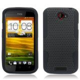 Black APEX Hard Hybrid Gel Case Cover For HTC One S - Black APEX Hard Hybrid Gel Case Cover For HTC One S    APEX Hybrid Hard and Soft Crystal Skin TPU CaseMade with Grade A TPU (Thermoplastic Polyurethane)Prevents scratches and damages to your phone