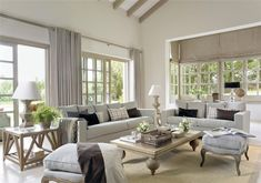 Vivir el estilo british · ElMueble.com · Casas Quiero estas mesas!!!!
