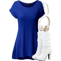 Beauty And The Beat by avamancuso on Polyvore featuring Doublju, Swarovski, women's clothing, women's fashion, women, female, woman, misses and juniors