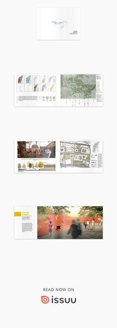 ITU- Landscape Architeture Portfolio  (Only 4 year-architecture school studio projects)