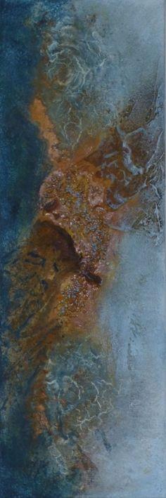 Rusty Powder ~ The Powertex UK Mixed Media Magazine Rusty Powder ~ Das Powertex UK Mixed Media Magazin Texture Art, Texture Painting, Mixed Media Canvas, Mixed Media Art, Sculpture Art, Sculptures, Art Graphique, Large Wall Art, Types Of Art