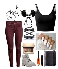A fashion look from December 2016 featuring spaghetti-strap tops, super skinny jeans and waterproof boots. Browse and shop related looks. Spaghetti Strap Top, Waterproof Boots, Oras, Super Skinny Jeans, Miss Selfridge, Timberland, Fashion Looks, Street Style, Polyvore