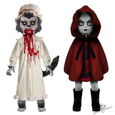 Living Dead Dolls: Red Riding Hood & Wolf