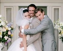Cute :-) Amelia Heinle, Joshua Morrow and Billy Miller as Victoria, Nick, and Billy on the Young and the Restless