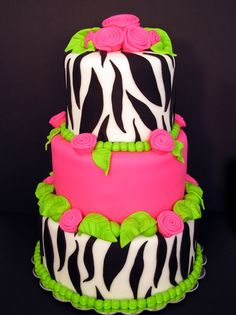 lime green and hot pink wedding party - Google Search