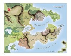 15 best fantasy maps images on pinterest fantasy map cartography that small middle kingdom bordered by mountains that could be marengo re pr lindstrm style fantasy world map free fantasy maps gumiabroncs Choice Image