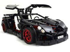 LEGO car boasts of 5-speed transmission