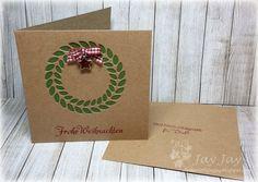 ~* Jay Jays kreative Welt *~: {Kulricke} Schnelle Weihnachtsgrüße mit dem Blätterkreis