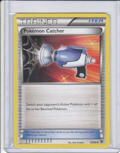2011 Pokemon Black and White Emerging Powers #95 Pokemon Catcher (U)