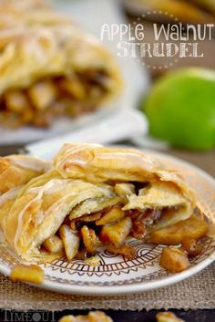 This easy Apple Walnut Strudel is the BEST way to wake up this fall ...