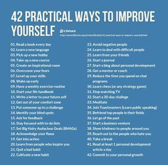 Become a better version of yourself! Here are some great tips to get you started. (http://media-cache-ec0.pinimg.com/originals/65/02/a5/6502a57d65f0b4053a096489225ef150.jpg)