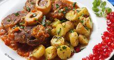 Ossobuco Milanese, Οσομπούκο, Συνταγές για Οσομπούκο, Ossobuco, Οσομπούκο Μιλανέζε, Χριστουγεννιάτικες Συνταγές Kung Pao Chicken, Pork, Cooking, Ethnic Recipes, Sweet, Kale Stir Fry, Kitchen, Candy, Pork Chops
