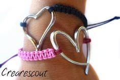 adjustable knot bracelets tutorial