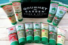 Gourmet Garden Herbs and Spices - These are great!